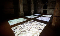 Eike: Alteration, six channel video installation, 2012, photo: Zolt�n Kerekes, Kiscelli Museum Budapest